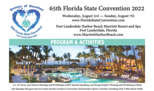 Flyer 65th Florida State Convention